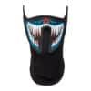 LED rave masker monster blauw