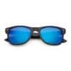 Spiegel spacebril blauw